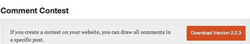 Plugin WordPress para organizar concursos: Comment Contest