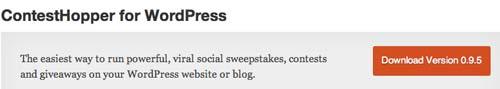 Plugin WordPress para organizar concursos: ContestHopper