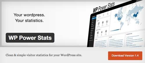 Plugin WordPress para verificar estadísticas de sitio: WP Power Stats