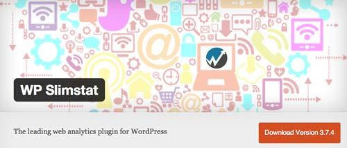 Plugin WordPress para verificar estadísticas de sitio: WP Slim Stat