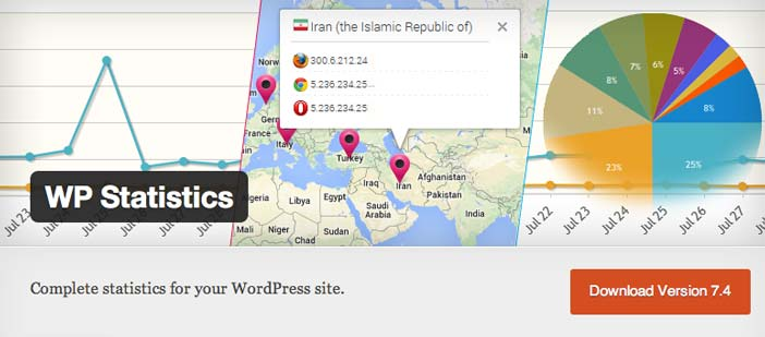 Plugin WordPress para verificar estadísticas de sitio: WP Statistics