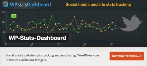 Plugin WordPress para verificar estadísticas de sitio: WP Stats Dashboard