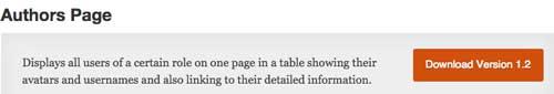 Plugin WordPress para realizar cambios a tu página de autor: Authors Page