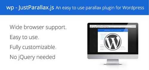 Plugin WordPress para implementar efecto parallax: WP - JustParallax