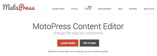 Plugin WordPress para implementar efecto parallax: MotoPress Content Editor