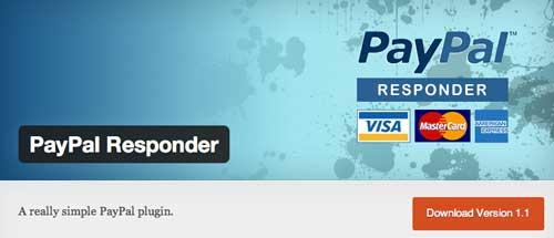 Plugin WordPress para PayPal: PayPal Responder