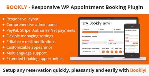 Plugin WordPress para reservaciones: Bookly