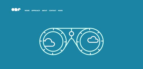 Ejemplos de portfolio online de diseño minimalista: One Design Company
