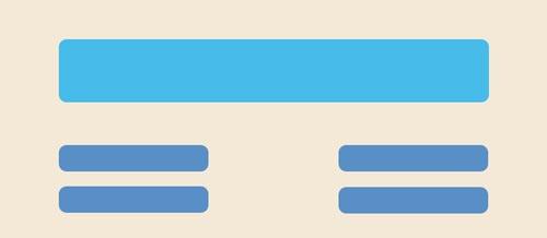 Fundamentos del diseño: Jerarquía visual en base a alineación