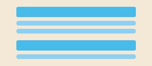 Fundamentos del diseño: Jerarquía visual en base a repetición