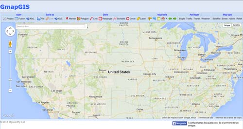 Herramientas para crear mapas online: GmapGIS