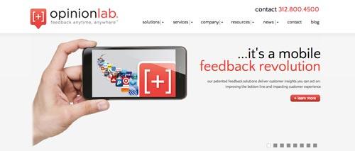 Herramientas para recolectar comentarios sobre tus aplicaciones móviles: OpinionLab
