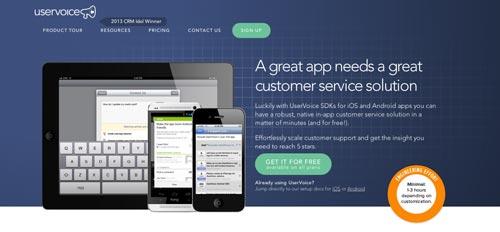Herramientas para recolectar comentarios sobre tus aplicaciones móviles: User Voice