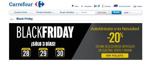 Las mejores ofertas de Black Friday en Carrefour