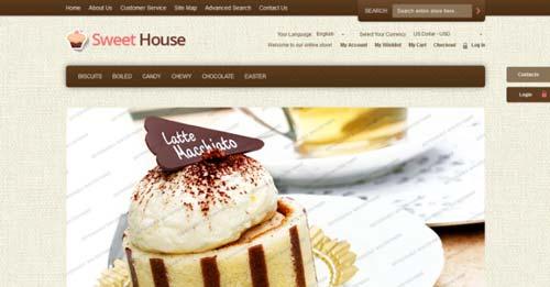 Magento themes para tu tienda online: Sweet House