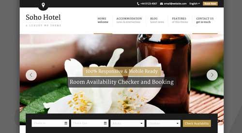 Los mejores temas Wordpress de este año para hoteles