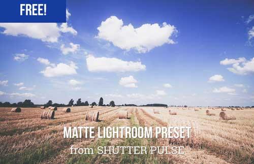 Preset Lightroom gratuitos para tus fotografías: Matte