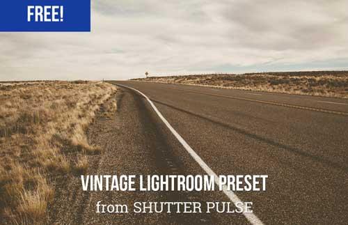 Preset Lightroom gratuitos para tus fotografías: Vintage