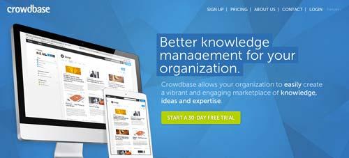 Servicios de gestión de proyectos colaborativos: Crowdbase