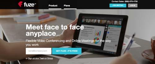 Servicios de gestión de proyectos colaborativos: Fuze