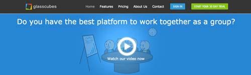 Servicios de gestión de proyectos colaborativos: Glasscubes
