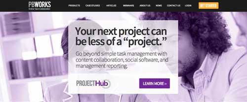 Servicios de gestión de proyectos colaborativos: PBWorks