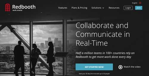 Servicios de gestión de proyectos colaborativos: Redbooth