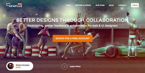 Servicios de gestión de proyectos colaborativos: Viewflux
