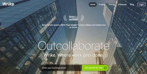 Servicios de gestión de proyectos colaborativos: Wrike