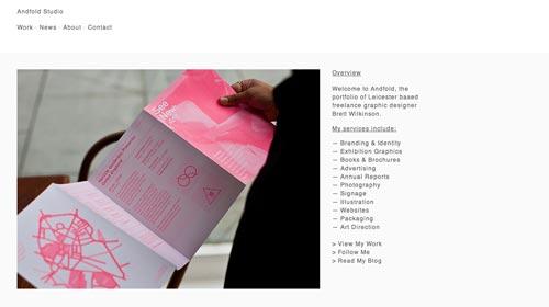 Sitios web con un excelente diseño minimalista: Anfold Studio