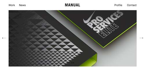 Sitios web con un excelente diseño minimalista: Manual