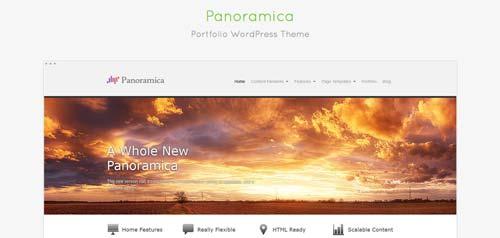 Temas WordPress gratuitos para portafolios online: Panoramica
