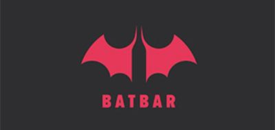 Diseño de logos que hacen uso efectivo de los espacios en blanco: Batbar