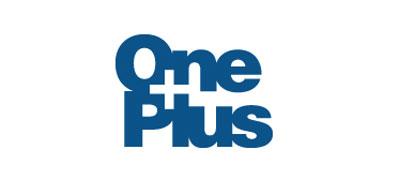 Diseño de logos que hacen uso efectivo de los espacios en blanco: One Plus