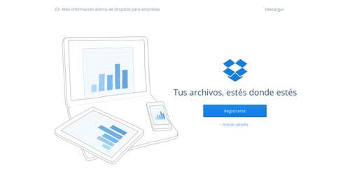 Herramientas de bajo costo para mejorar productividad laboral: Dropbox