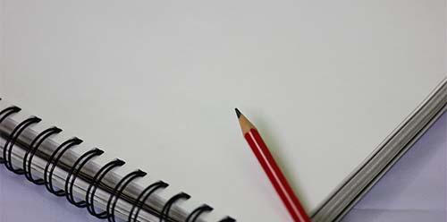 Cómo hacer del pensamiento creativo un hábito: Llevar un bloc de notas contigo