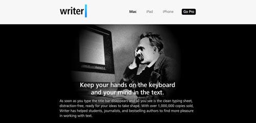 Lista de Markdown Editor: iA Writer