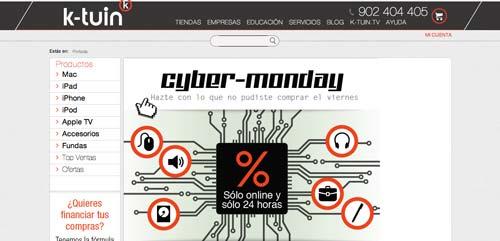 Las mejores ofertas del Cyber Monday en k-tuin
