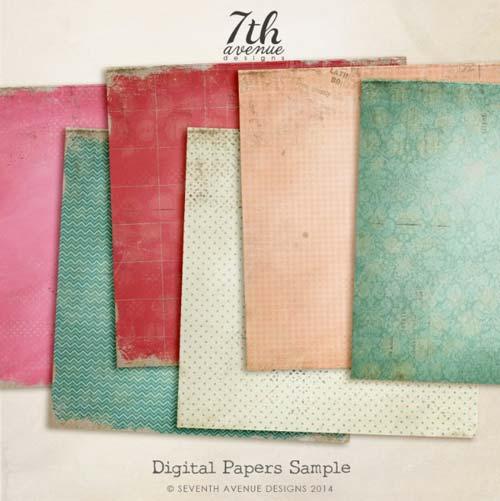 Paquetes de texturas gratis: Digital Paper