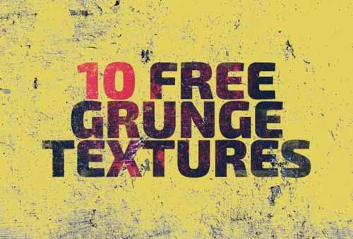 Paquetes de texturas gratis: Free Grunge Textures