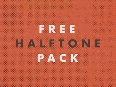 Paquetes de texturas gratis: Free Halftone Pack
