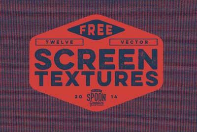 Paquetes de texturas gratis: Vector Screen Textures