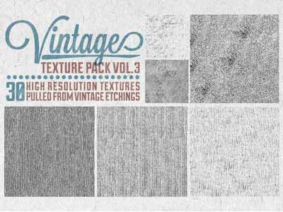 Paquetes de texturas gratis: Vintage Texture Pack Vol. 3