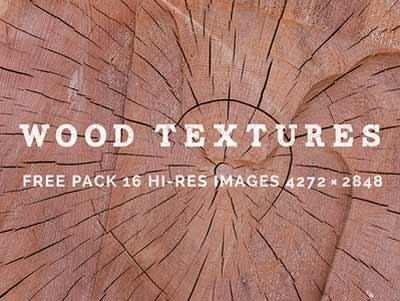 Paquetes de texturas gratis: Free Wood Textures