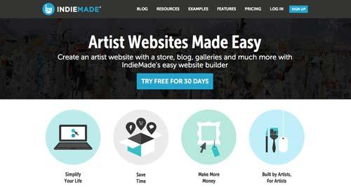 Servicios para crear sitio web: IndieMade