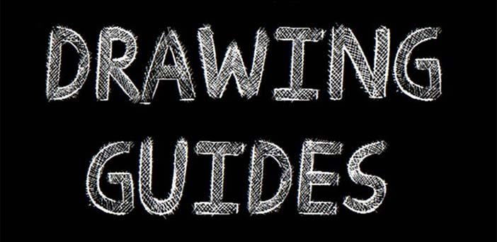 Tipografias gratis con efecto de tiza: Drawing Guides