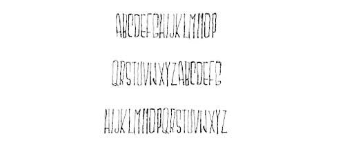 Tipografias gratis con efecto de tiza: Mskitokila