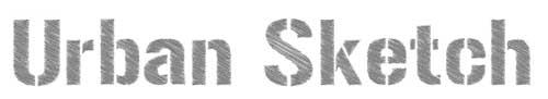 Tipografias gratis con efecto de tiza: Urban Sketch