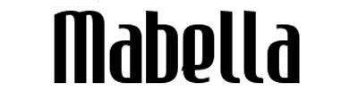 Tipografias gratis adecuadas para títulos: Mabella