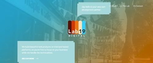 Uso efectivo de gradientes en páginas de destino: Lab19